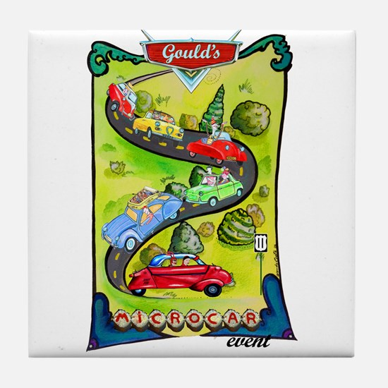 Gould's Eleventh Classic Event Tile Coaster