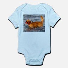 Golden Retriever 5 Infant Bodysuit