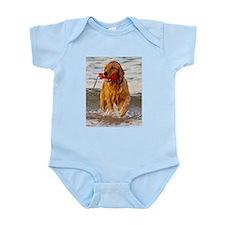 Golden Retriever 9 Infant Bodysuit