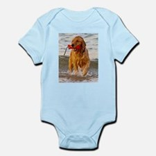 Golden Retriever 9 Infant Bodysuit