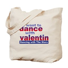 DWTS Val Fan Tote Bag