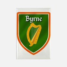 Byrne Family Crest Rectangle Magnet