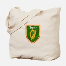 Byrne Family Crest Tote Bag