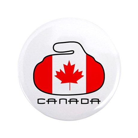 """Canada Curling 3.5"""" Button (100 pack)"""