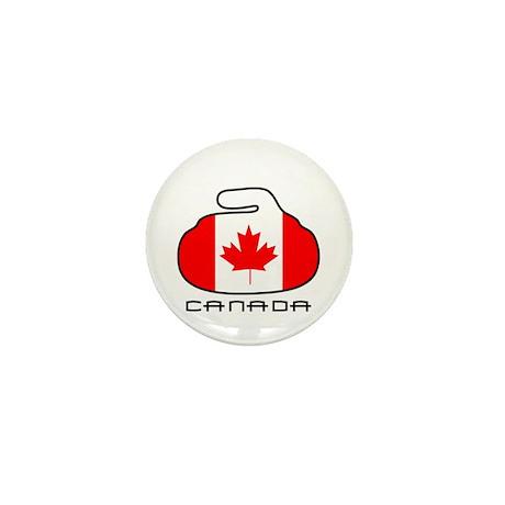Canada Curling Mini Button (100 pack)