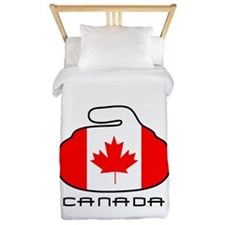 Canada Curling Twin Duvet