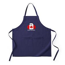 Canada Curling Apron (dark)