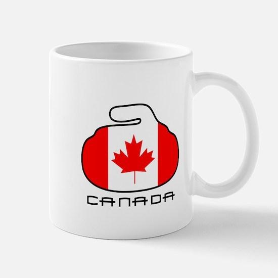 Canada Curling Mug