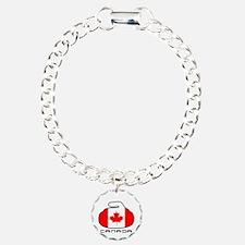 Canada Curling Bracelet