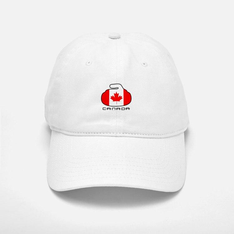 Canada Curling Baseball Baseball Cap