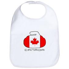 Canada Curling Bib
