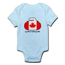 Canada Curling Infant Bodysuit