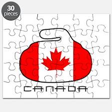 Canada Curling Puzzle