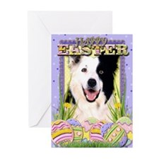 Easter Egg Cookies - Border Greeting Cards (Pk of