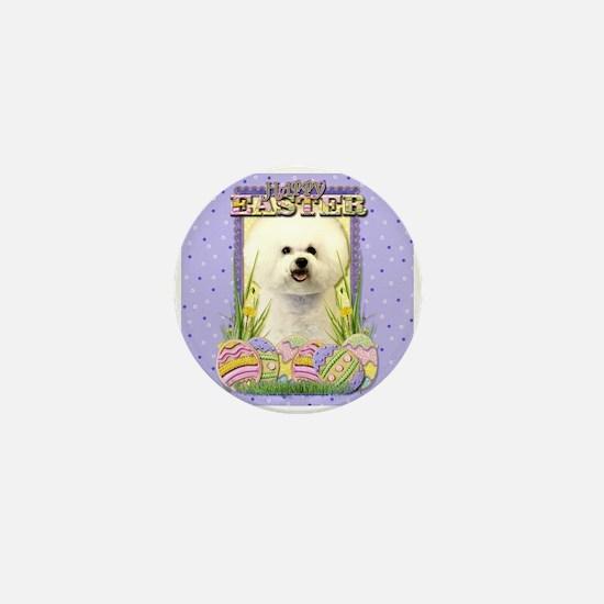 Easter Egg Cookies - Bichon Mini Button