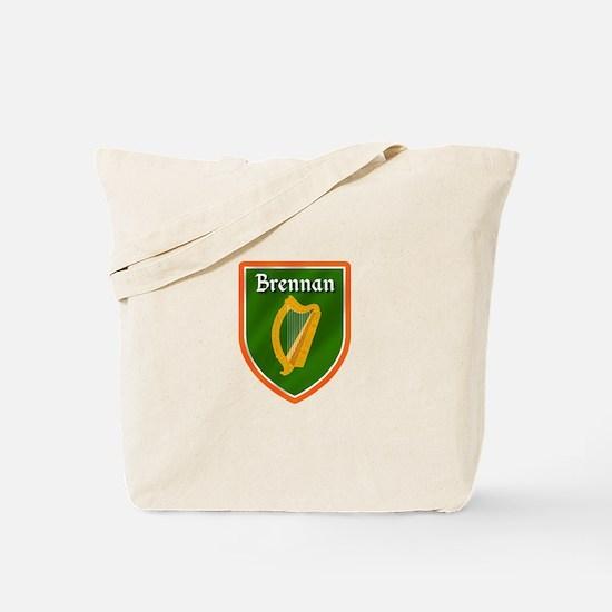 Brennan Family Crest Tote Bag