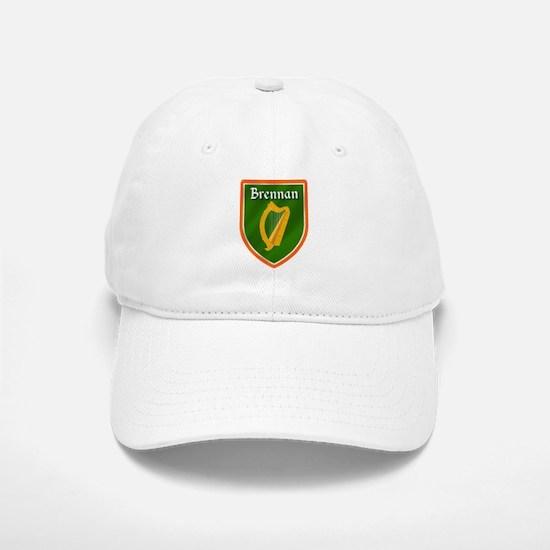 Brennan Family Crest Baseball Baseball Cap