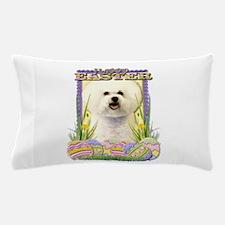 Easter Egg Cookies - Bichon Pillow Case