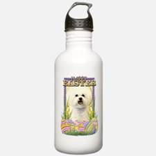 Easter Egg Cookies - Bichon Water Bottle