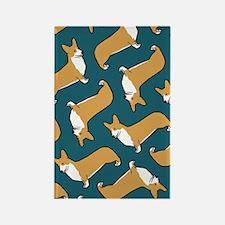 Pembroke Welsh Corgis Rectangle Magnet (10 pack)