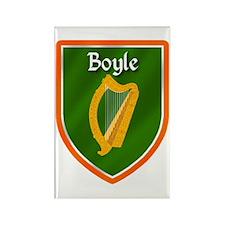 Boyle Family Crest Rectangle Magnet
