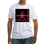 Gnomes Can't Dunk Fitted T-Shirt
