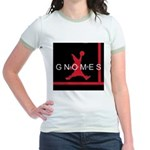 Gnomes Can't Dunk Jr. Ringer T-Shirt