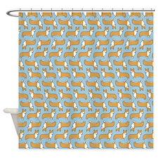 Pembroke Welsh Corgis Shower Curtain