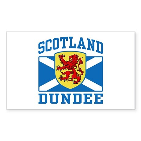 Dundee Scotland Sticker (Rectangle)