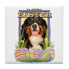Easter Egg Cookies - Bernie Tile Coaster