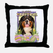 Easter Egg Cookies - Bernie Throw Pillow