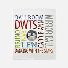 DWTS Throw Blanket