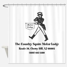 Country Squire Motel Shower Curtain
