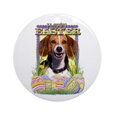 Easter Egg Cookies - Beagle Ornament (Round)