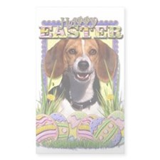 Easter Egg Cookies - Beagle Decal