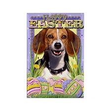 Easter Egg Cookies - Beagle Rectangle Magnet