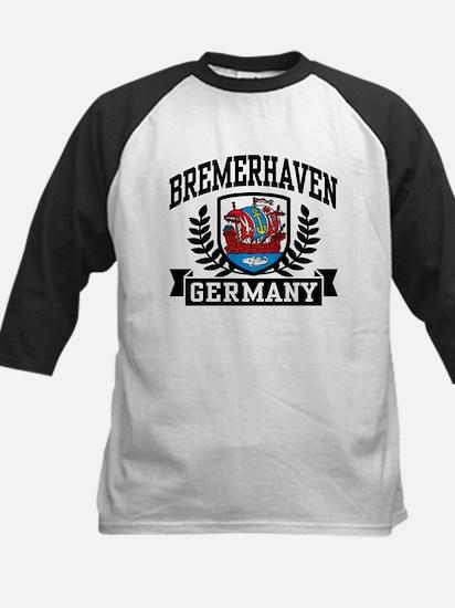 Bremerhaven Germany Kids Baseball Jersey