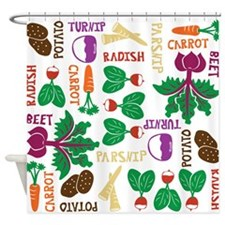 The Roots of All Gardens Shower Curtain