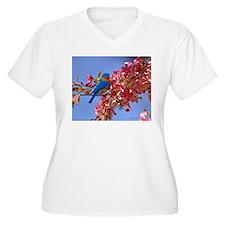 Bluebird in Blossoms T-Shirt