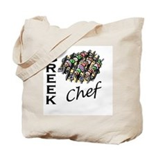 Greek Chef Tote Bag