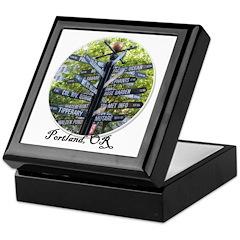 Portland Sign - Keepsake Box