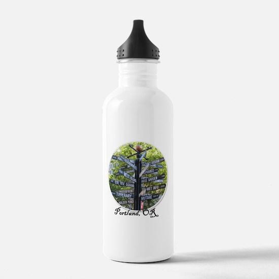 Portland Sign - Water Bottle