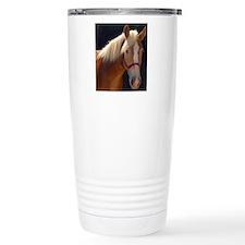 Sunlit Horse Travel Mug