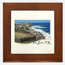 San Juan - Framed Tile