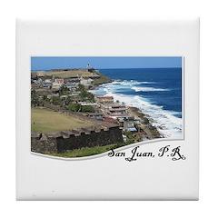 San Juan - Tile Coaster