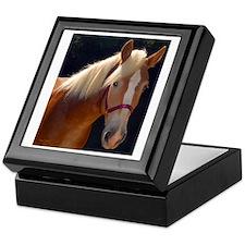 Sunlit Horse Keepsake Box