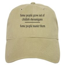 Outgrow Childish Shenanigans Baseball Cap
