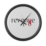 Revenge - Double Infinity G Large Wall Clock