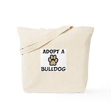 Adopt a BULLDOG Tote Bag