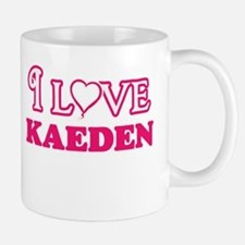 I Love Kaeden Mugs